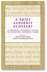 A Brief Sanskrit Glossary front cover